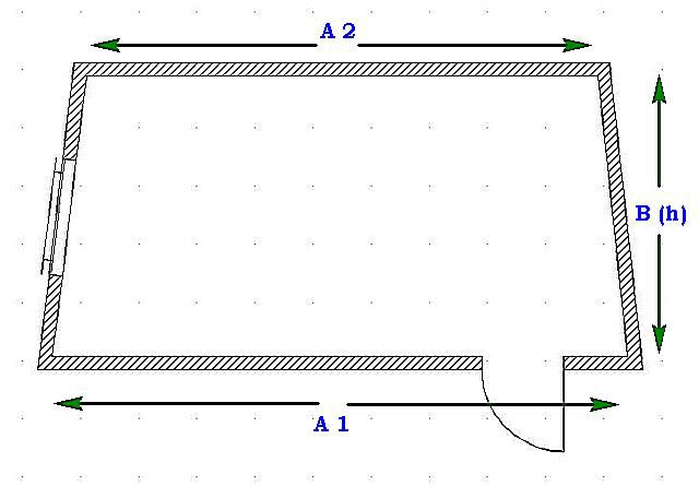 Схема нумерации сторон для калькулятора