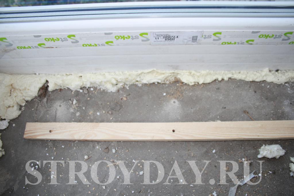 Делаем отверстия в бетоне с помощью ударной дрели