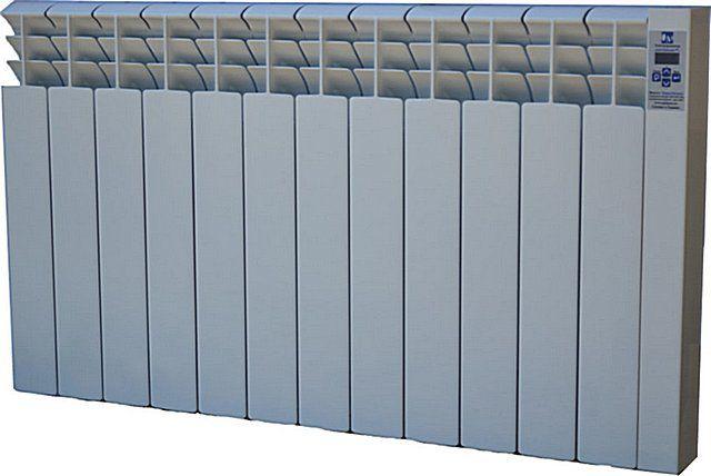 Модульный обогреватель практически неотличим от современных радиаторов отопления