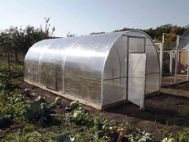 Особые свойства поликарбоната позволяют создавать арочные конструкции