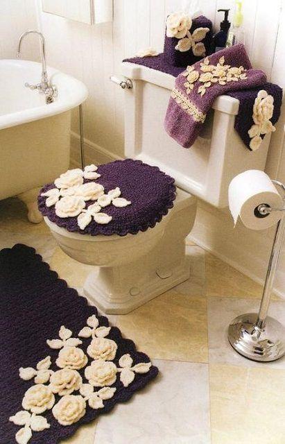 Аксессуары в ванную комнату и туалет своими руками