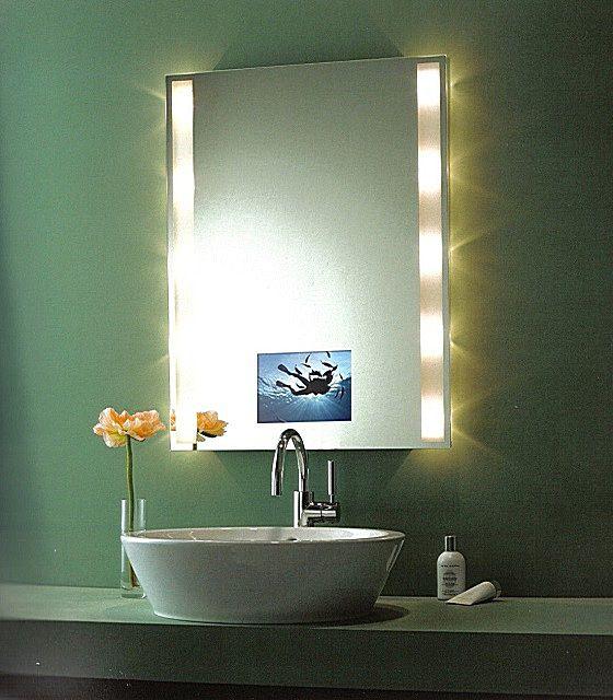 Особо удобны для ежедневных косметических процедур зеркала с подсветкой
