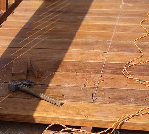 Укладка деревянной террасной доски своими руками - Shmorl.RU