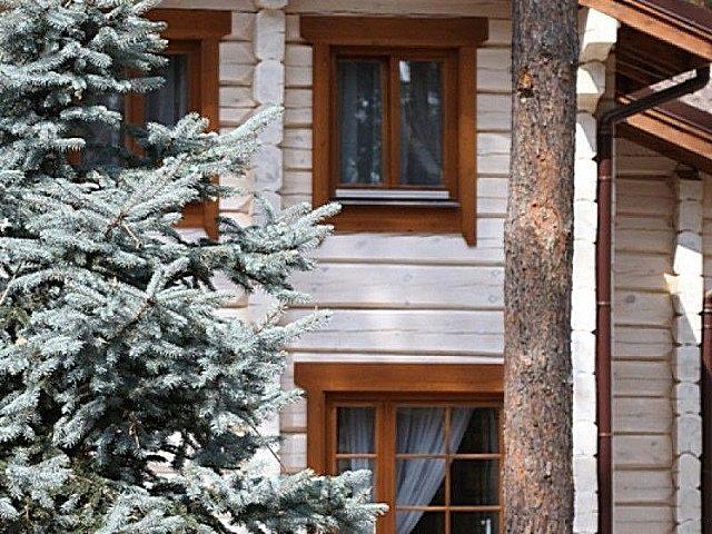 Финские деревянные окна со стеклопакетами