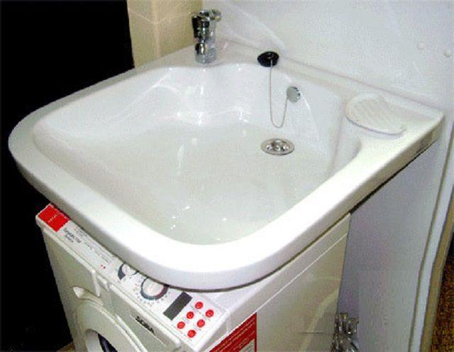 """Размеры """"кувшинки"""" должны исключать попадание воды на панель управления стиральной машинки"""