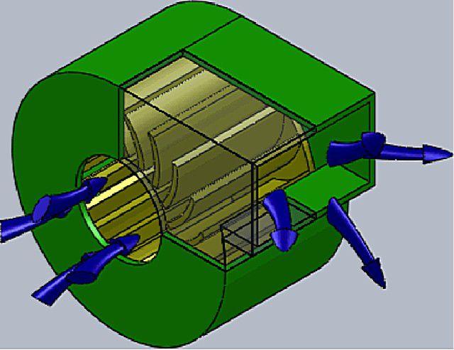 Более тихими и легко управляемыми будут радиальные вентиляторы с лопатками, загнутыми против направления вращения