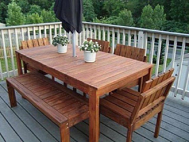 Изготовления стола из дерева своими руками