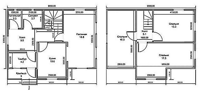 Для расчета потребуется план помещений дома или квартиры