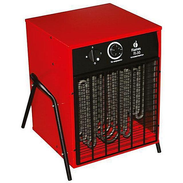 Такой тепловентилятор подойдет больше для хозяйственных нужд