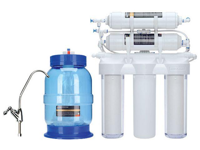 """Для """"апологетов"""" кристально чистой воды - установки с системой очистки по принципу обратного осмоса"""