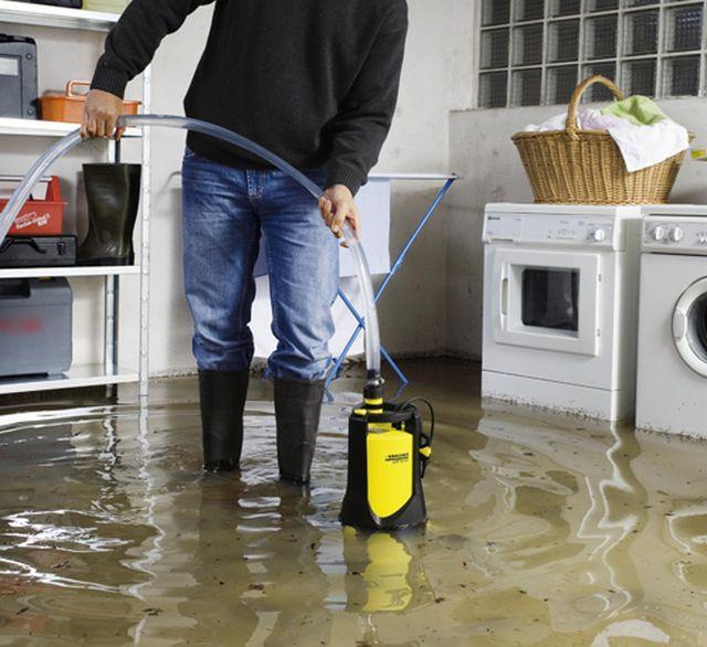 Устранение последствий аварий и стихийный бедствий - еще одна функция дренажных насосов