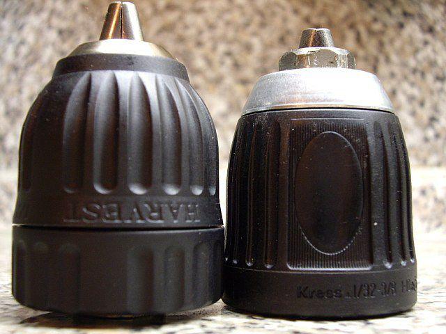 Двухмуфтовый и одномуфтовый быстрозажимные патроны