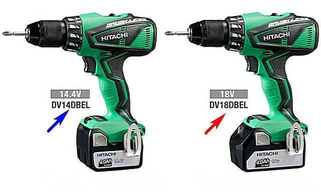 Очень похожие модели, но различающиеся характеристиками аккумуляторных батарей