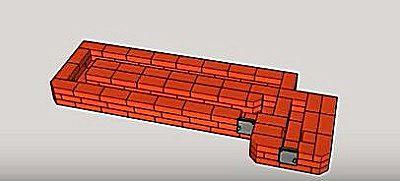 Печь-ракета из кирпича своими руками