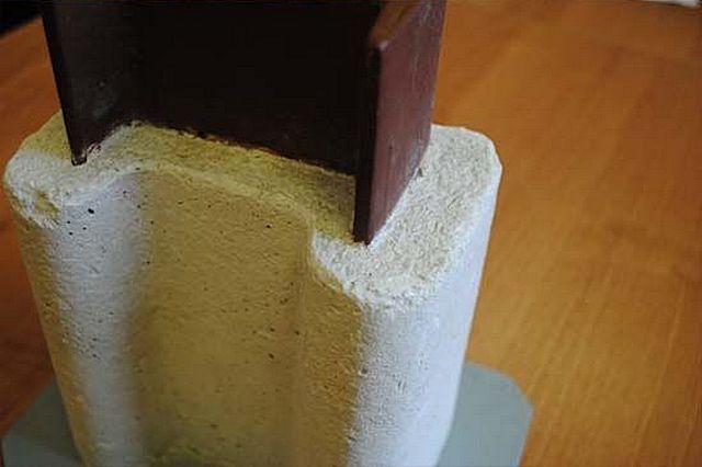 Одна из задач вермикулита - огнезащита металлических конструкций