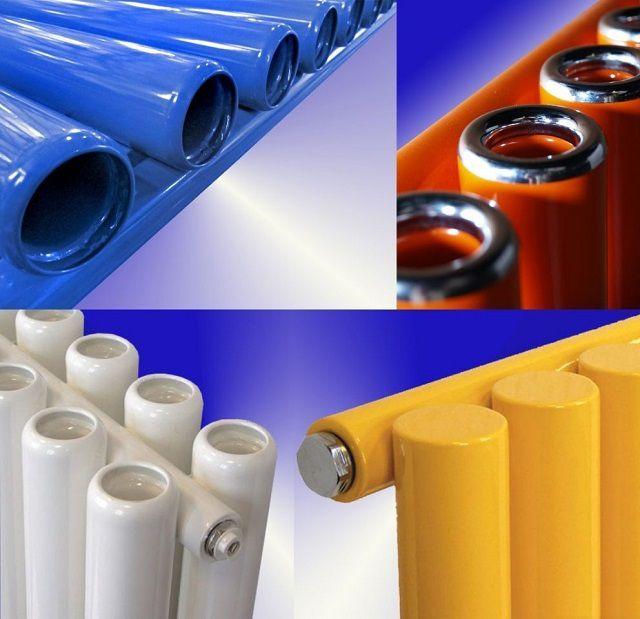 Различные виды конвекторных трубок радиаторов