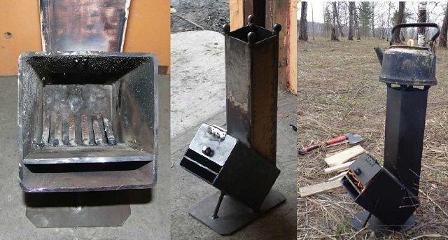 """Модель """"Робинзона"""", дополненная крышкой топливной камеры"""