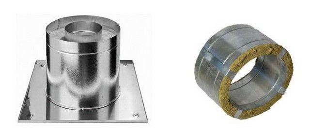 Проходные узлы с готовым термоизоляционным слоем