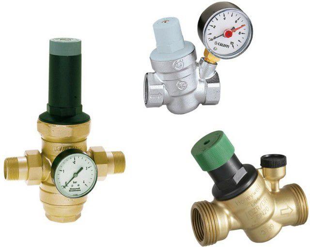 Редукторы для стабилизации повышенного давления воды