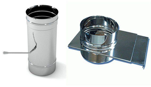 Задвижками-шиберами можно регулировать прогрев банного помещения