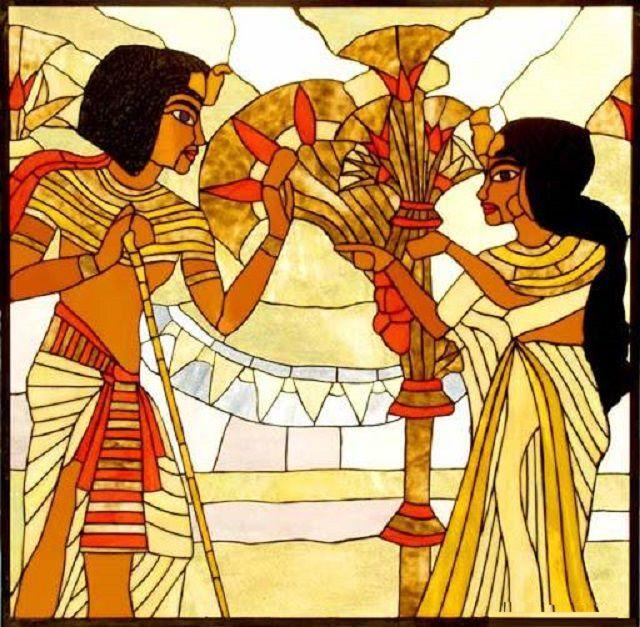 Остаются в моде и древнеегипетские сюжетные темы