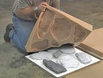Изготовление камня
