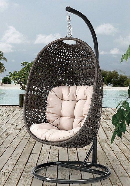 Кресло-кокон - для тех, кто любит проводить время в уединении
