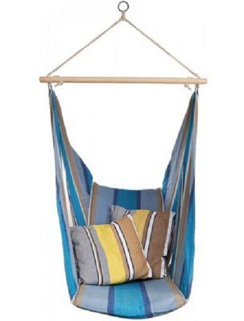 Такое подвесное кресло сродни гамаку