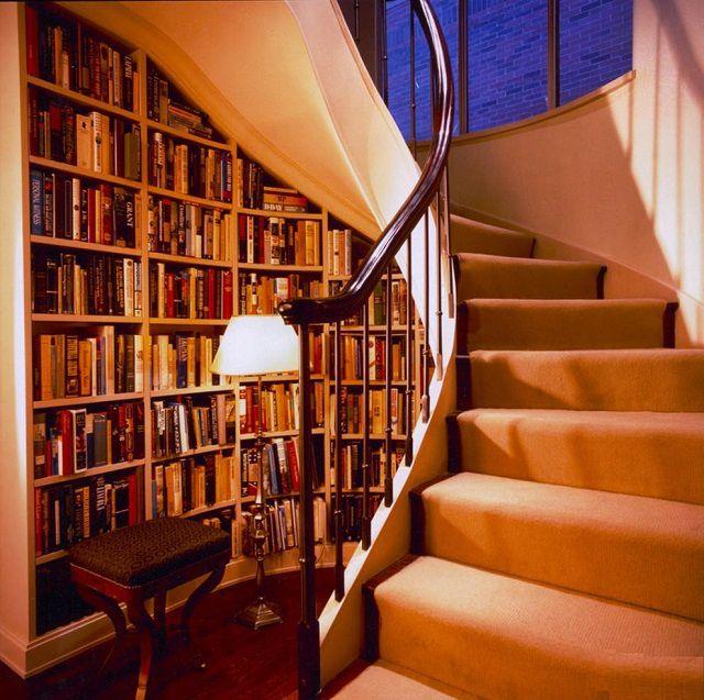 Нашлось место для домашней библиотеки