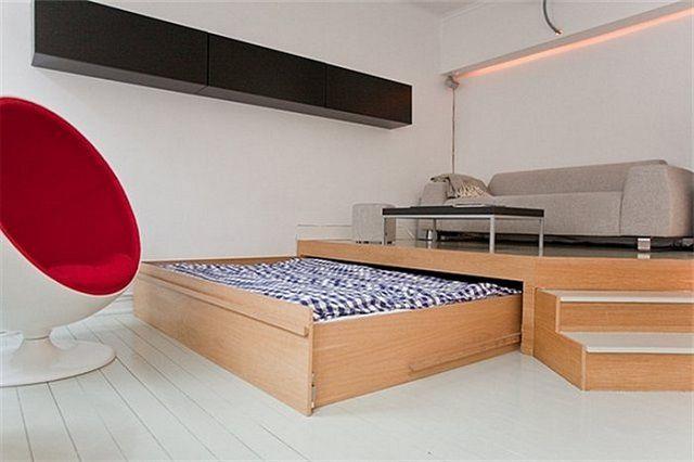 Новое направление в мебельном дизайне: кровать-подиум