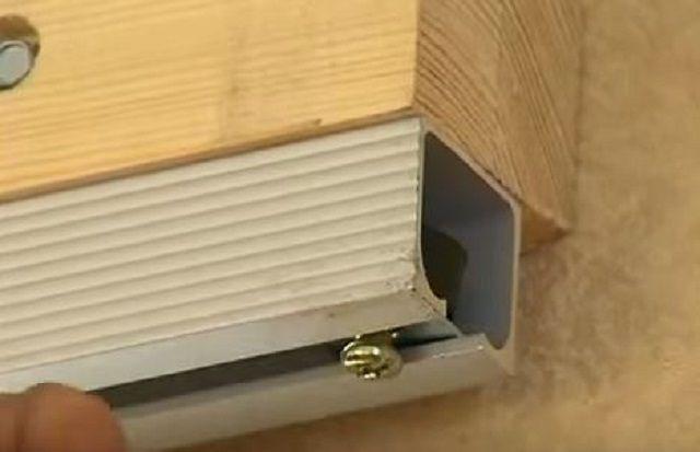 Как установить дверь на роликах своими руками 21