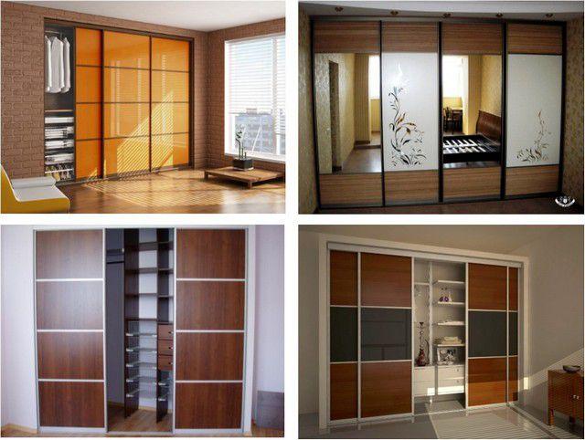 """Разнообразные варианты шкафов-купе, которые иногда даже и не являются """"шкафами"""""""