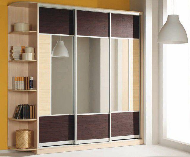 Двери с зеркалом для шкафа купе своими руками
