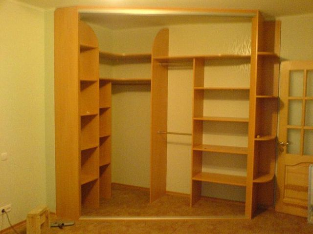 Шкаф встроенный угловой своими руками
