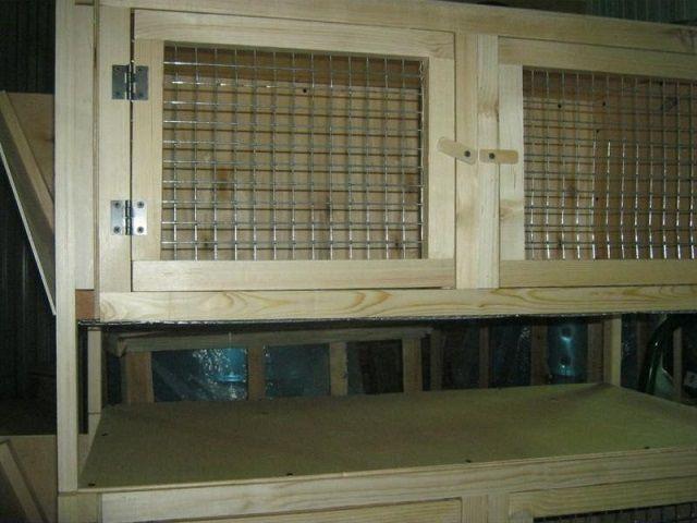 Передняя стенка-дверцы клетки для взрослых кроликов