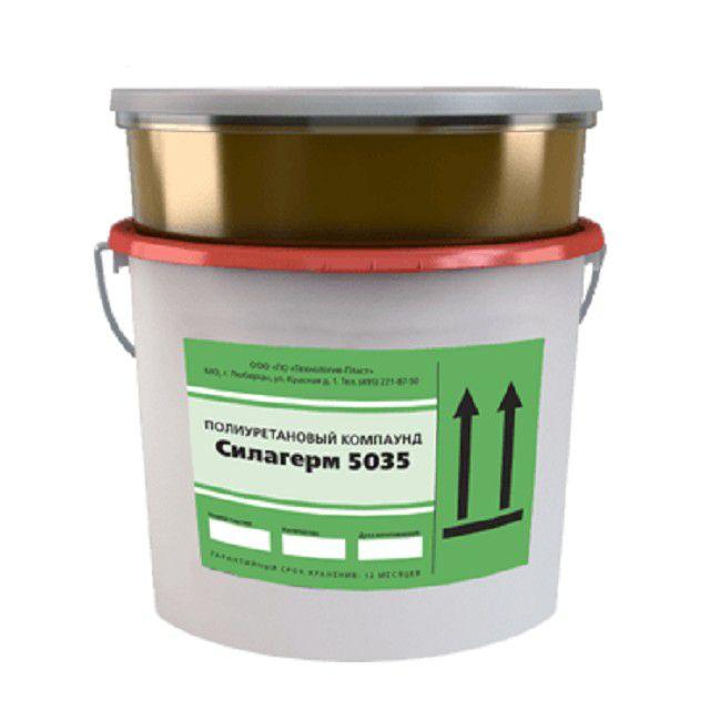 Двухкомпонентный состав для изготовления литьевых матриц «Силагерм»