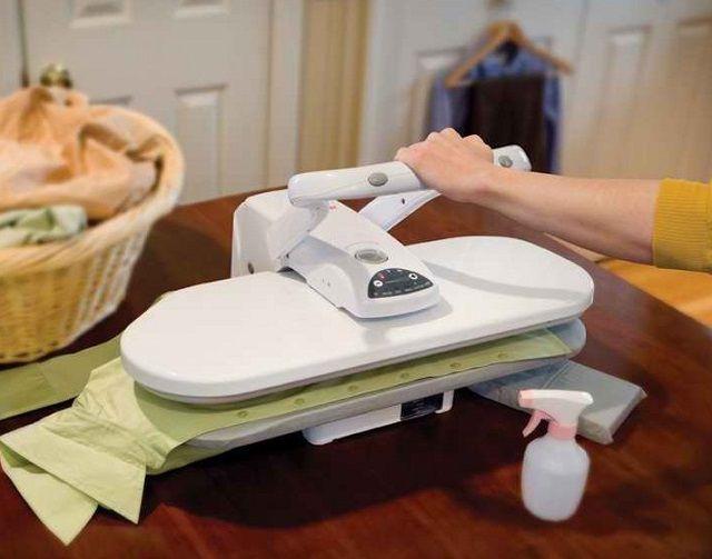 Альтернатива привычному утюгу – гладильный пресс
