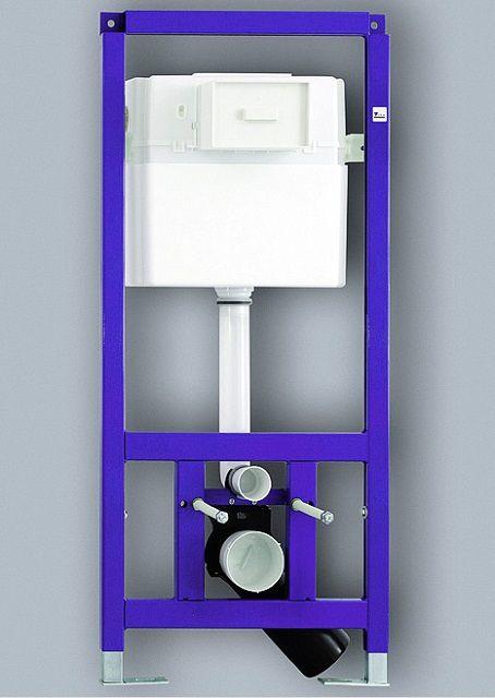 Рамная инсталляция для подвесного унитаза