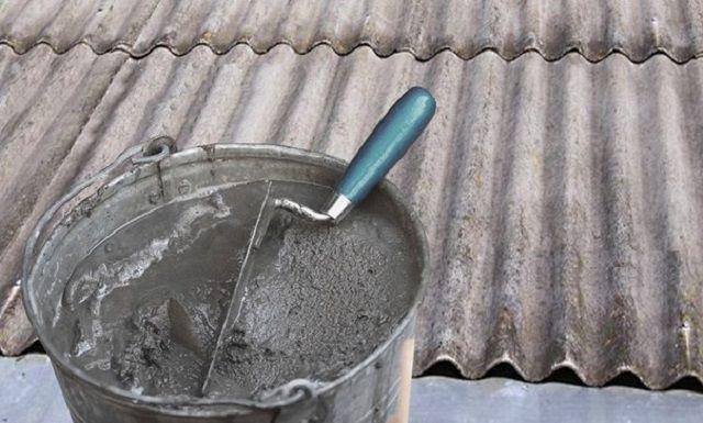 Один их самых простых способов – с использованием бетонного раствора