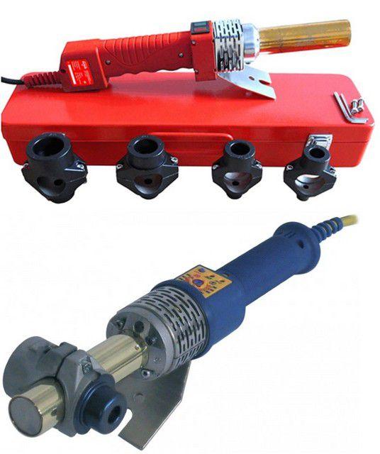 Аппараты для сварки полипропиленовых труб со стержневидным нагревателем