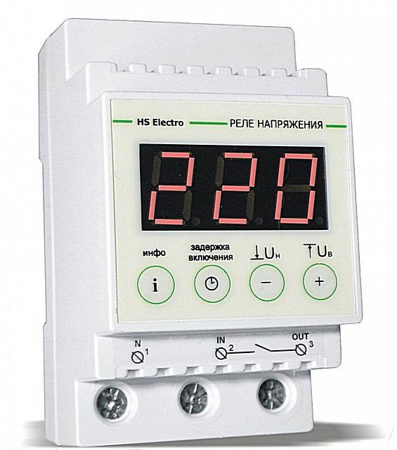 При достаточно стабильных параметрах местной электросети часто бывает достаточно установки реле напряжения