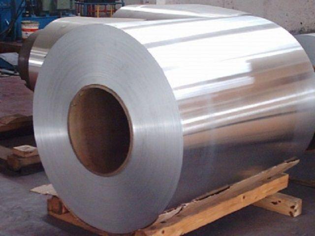 Изготавливают металлочерепицу и из алюминиевых листов