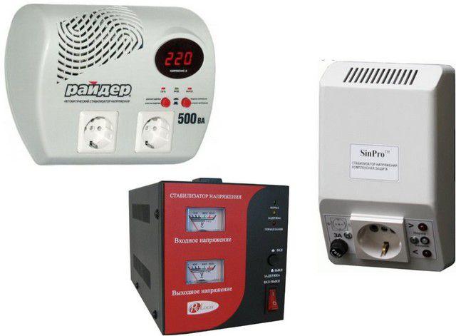 Разные варианты индикации: цифровой дисплей, стрелочные вольтметры или просто светодиоды, сигнализирующие о режиме работы прибора – выбор за покупателем