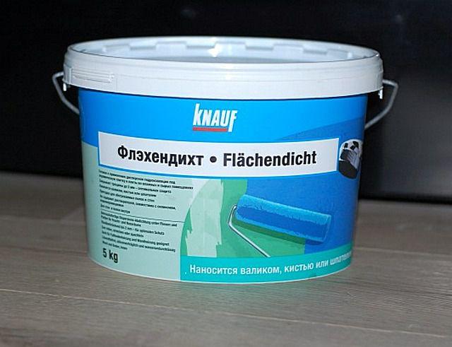 Гидроизоляционная грунтовка «Knauf Flachendicht»