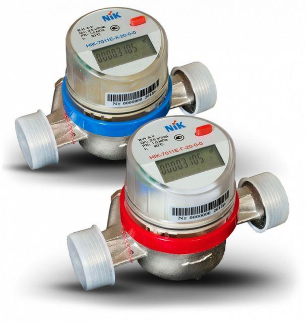 Это тоже тахометрические водомеры, просто с электронной индикацией показаний.