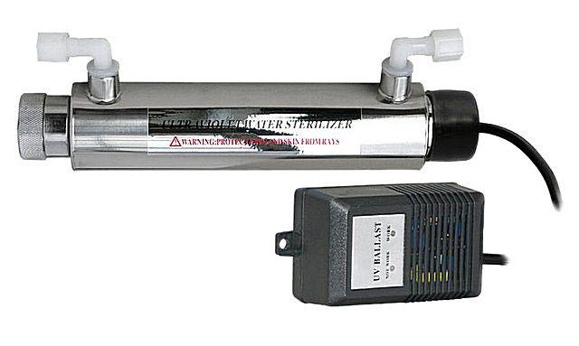 Модуль ультрафиолетовой обработки воды