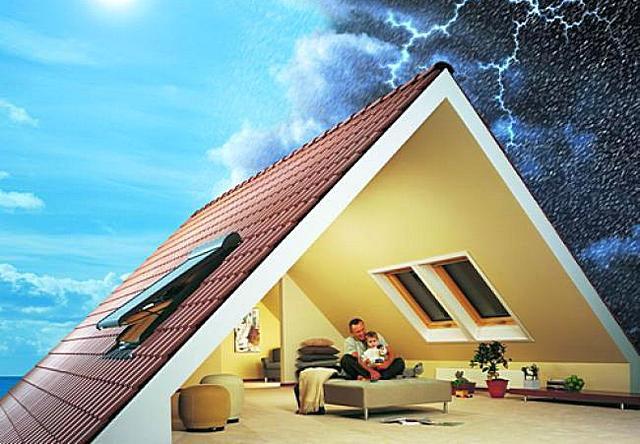 Термоизоляционная система крыши должно одинаково эффективно противостоять и зимней стуже, и летней жаре