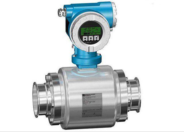 Одна из моделей электромагнитных счетчиков расхода воды