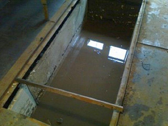 Близкое расположение грунтовых вод может привести к таким последствиям