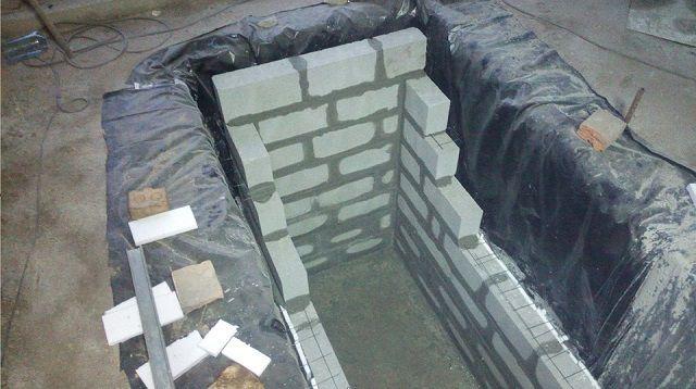 Армирование кладки сеткой, устанавливаемой между рядами кирпичей или блоков